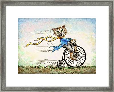 Living Flamboyantly Framed Print by Retta Stephenson