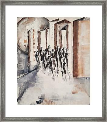Living For The City Framed Print by Christel Roelandt