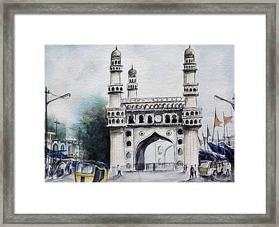 Living History Charminar Hyderabad Framed Print