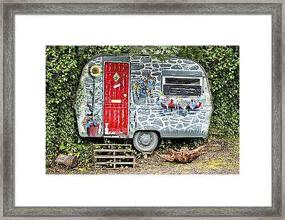 Living In Art Framed Print by Meirion Matthias