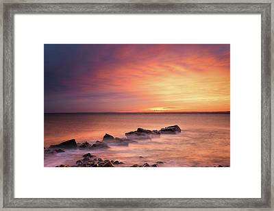 Living In Awe  Framed Print