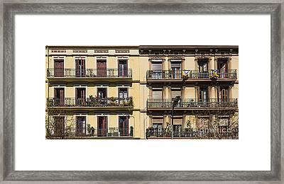 Living In Barcelona Framed Print by Svetlana Sewell