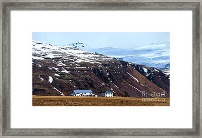 Living In Iceland Framed Print