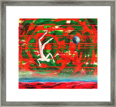 Living In My Life Framed Print by Rollin Kocsis
