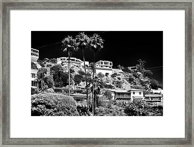 Living In The Hills Framed Print by John Rizzuto