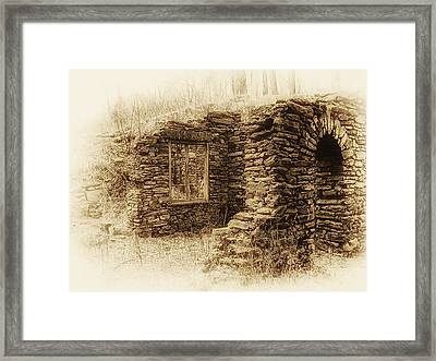 Living In The Past Framed Print by Bill Cannon