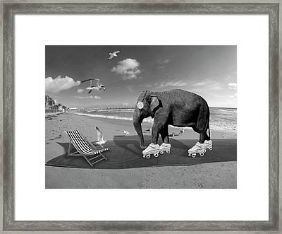 Livin La Vida Loca Framed Print