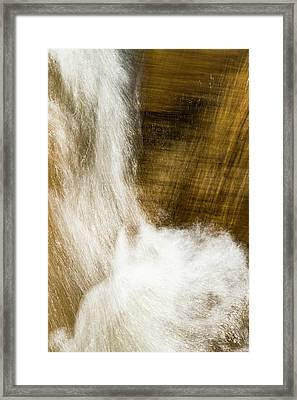 Framed Print featuring the photograph Living Liquid by Deborah Hughes