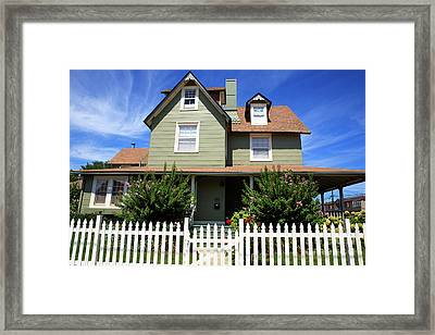 Framed Print featuring the photograph Living On Beach Haven by John Rizzuto