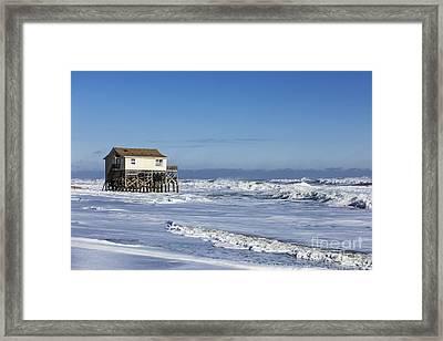 Living On The Edge Framed Print by John Greim