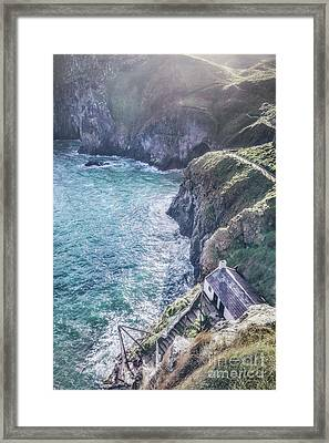 Living On The Edge Of The World Framed Print by Evelina Kremsdorf