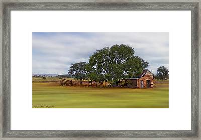 Living On The Land 0004 Framed Print