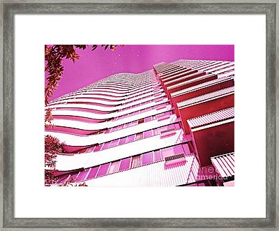 Living Pink Framed Print