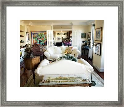 Living Room Iv Framed Print