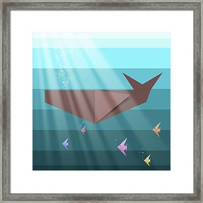 Living Sea Framed Print by Absentis Designs