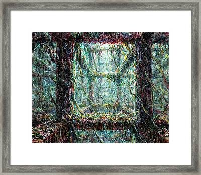 Living Structure Framed Print by De Es Schwertberger