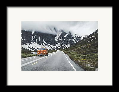 Winding Road Framed Prints