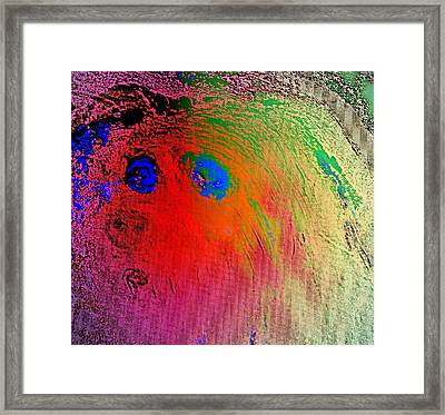Living The Spooky Life In The Land Of Shadows   Framed Print