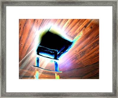 Living Underground Framed Print by Peter  McIntosh