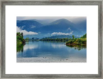 Living Waters Framed Print by Annie Pflueger