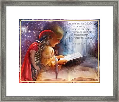 Living Word Framed Print