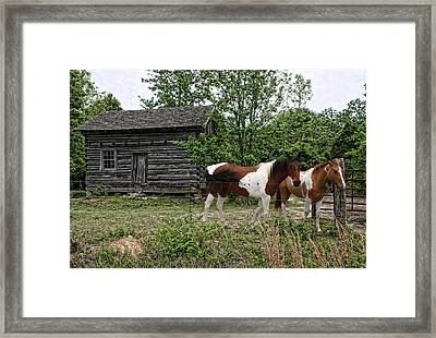 Livingston Cabin Framed Print