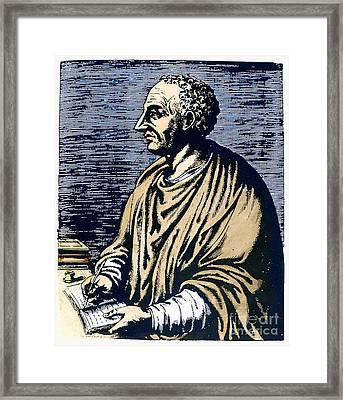 Livy (59 B.c.-17 A.d.) Framed Print by Granger