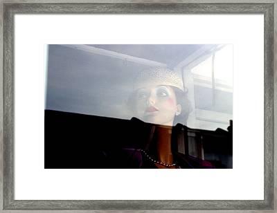 Liz Being Liz Framed Print by Jez C Self