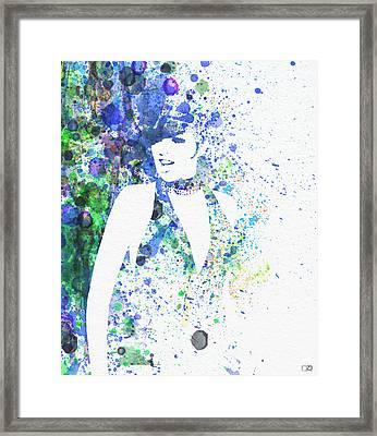 Liza Minnelli Cabaret Framed Print by Naxart Studio