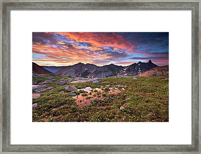 Lizard Head Wilderness Framed Print