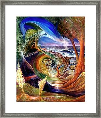 Lizdaze Framed Print by Sevan Thometz