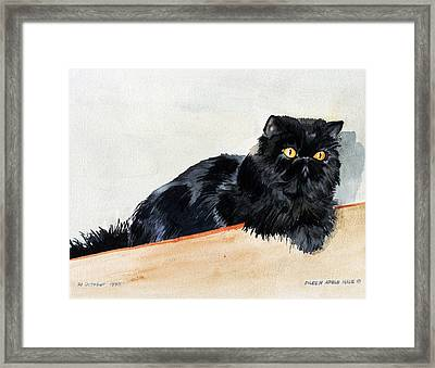 Lizzy Framed Print by Eileen Hale