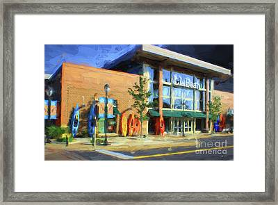 Ll Bean Store At The Promenade In Pa Framed Print by Heinz G Mielke