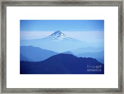 Llaima Volcano Chile Framed Print by James Brunker