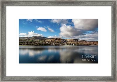 Llanberis Village Snowdonia Framed Print