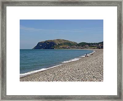 Llandudno Beach Framed Print by Rod Johnson