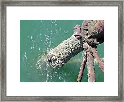 Llandudno Pier Structure Framed Print by Rod Johnson