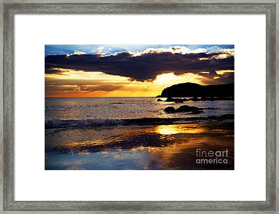 Llangennith Gower Coast Framed Print