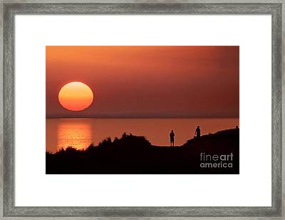 Llangennith Late Summer Days Framed Print
