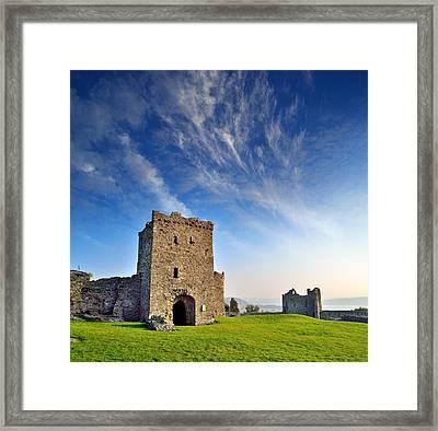 Llansteffan Castle 1 Framed Print