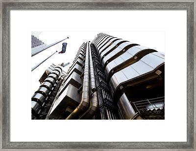 Lloyds Building London  Framed Print
