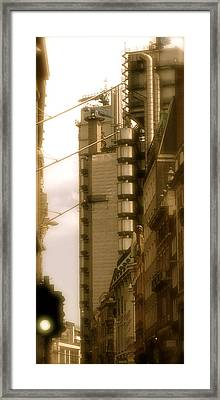 Lloyds Of London Building Framed Print