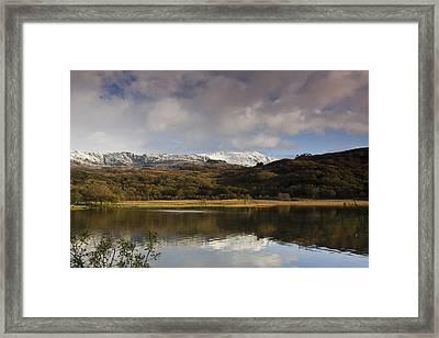 Llyn Dinas - Snowdonia - Wales Framed Print by Gary Rowe