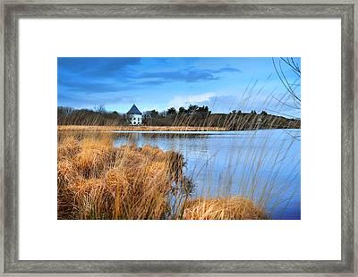 Llyn Llech Owain Country Park 1 Framed Print