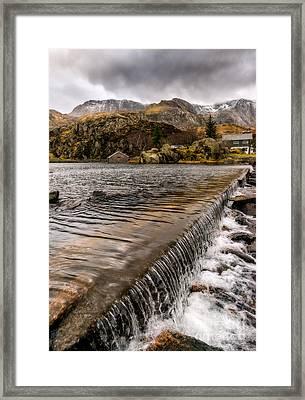 Llyn Ogwen Weir Framed Print by Adrian Evans