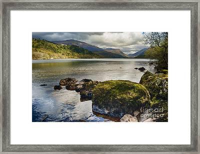 Llyn Padarn Framed Print by Amanda Elwell
