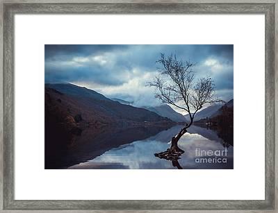 Llyn Padarn, North Wales Uk Framed Print by Amanda Elwell