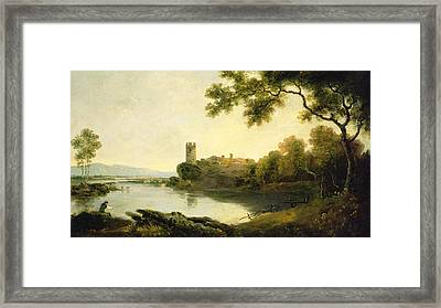 Llyn Peris And Dolbadarn Castle, North Wales Framed Print