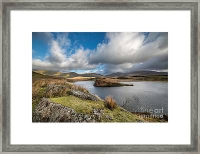 Llyn Y Dywarchen Framed Print