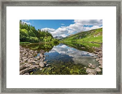 Llynnau Mymbyr Snowdonia Framed Print